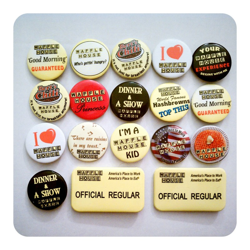 part of the button collection